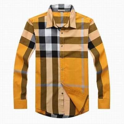 chemise jaune pour femme chemises hommes de burberry chemise homme taille 49 50. Black Bedroom Furniture Sets. Home Design Ideas